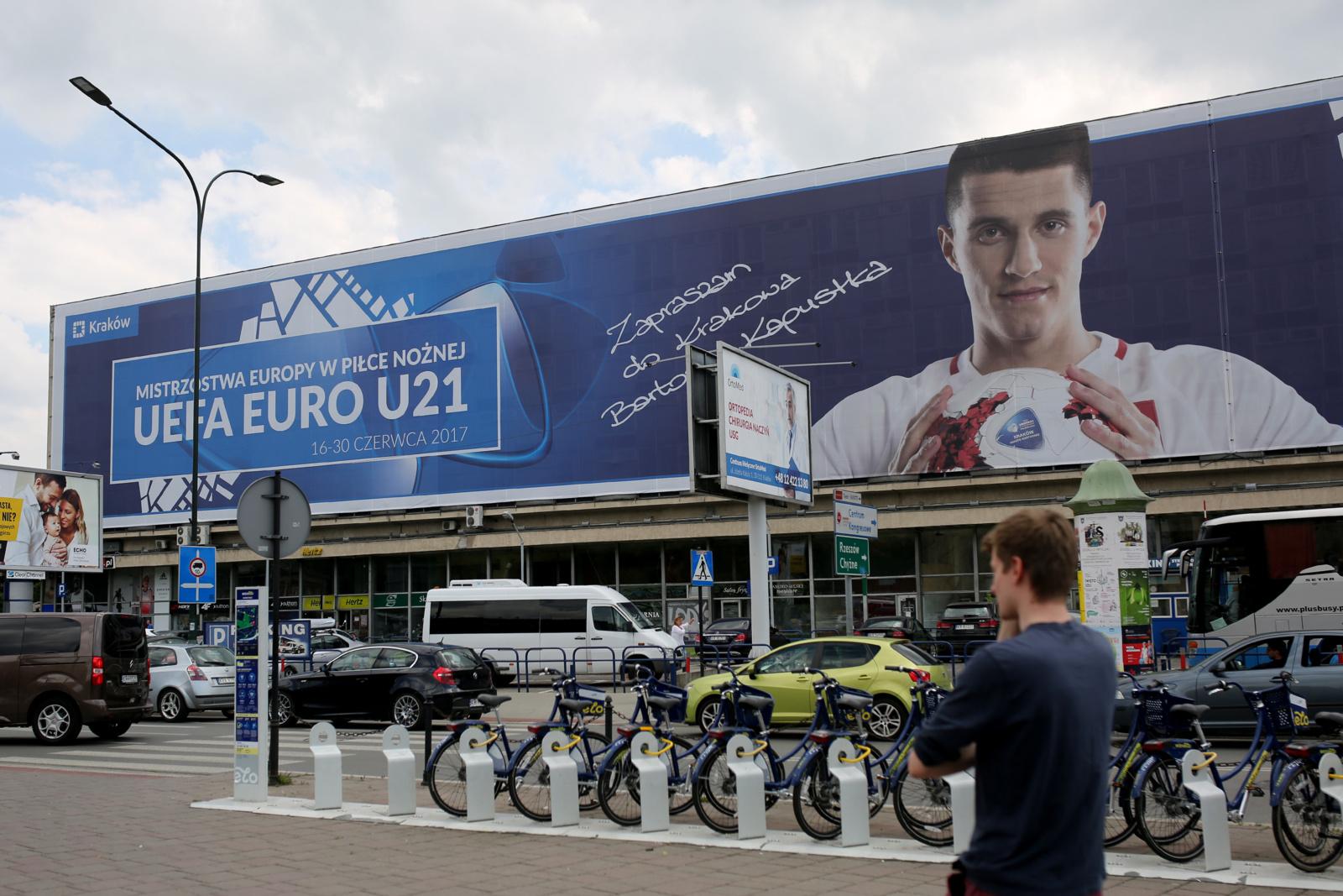 Mistrzostwa Europy U-21 w piłce nożnej. Kraków jednym z miast-gospodarzy
